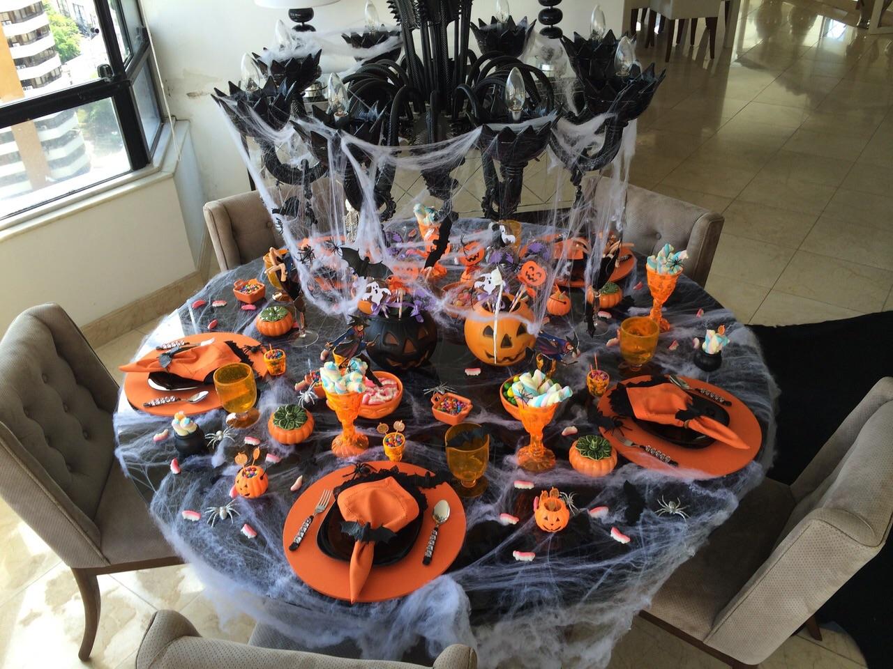 Dica Mesas para Halloween