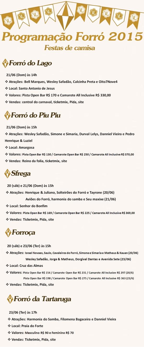 São João 2015 - Camisa