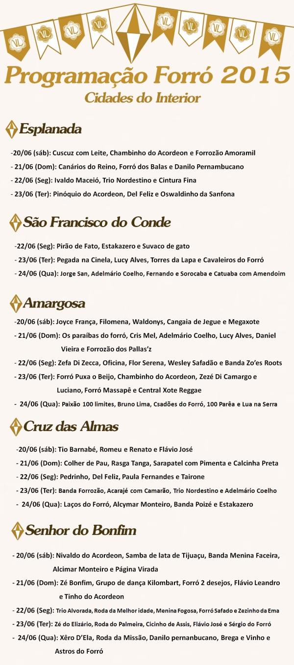 São João 2015 - Interior